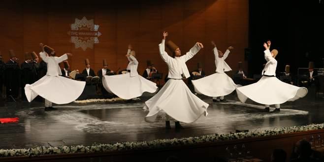 Bursa'da 'Şeb-i Arus' huzuru