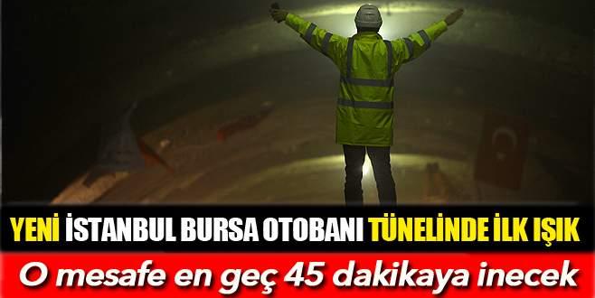 Bin 250 metrelik Selçukgazi Tüneli'nde ilk ışık göründü
