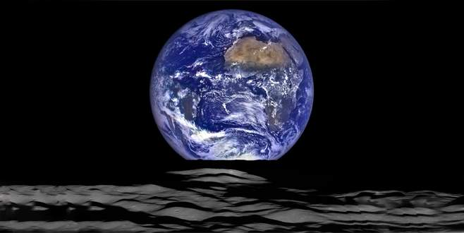 Ay'dan en net Dünya fotoğrafı