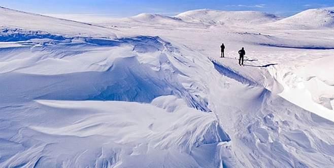Norveç'ten komşusuna 'dağ' hediyesi