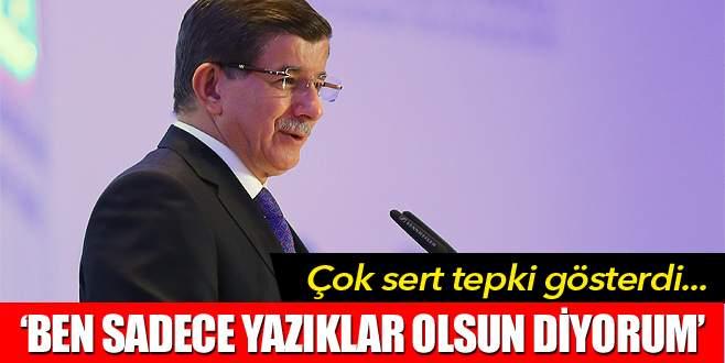 Davutoğlu'ndan sert tepki: Bu alçakça bir iddia
