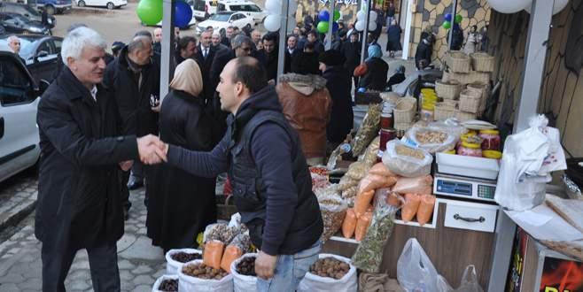 Oylat'a organik pazar