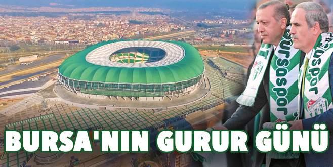 Bursa'nın gurur günü