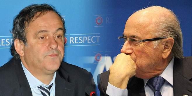 Blatter ve Platini'ye 8 yıl ceza