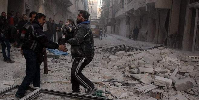 'Rusya ve Suriye misket bombası kullanıyor'