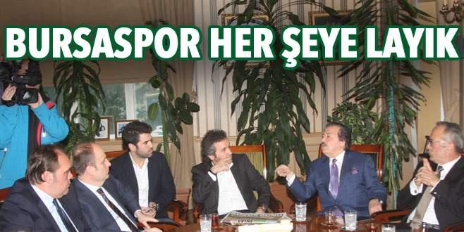 Bursaspor her şeye layık