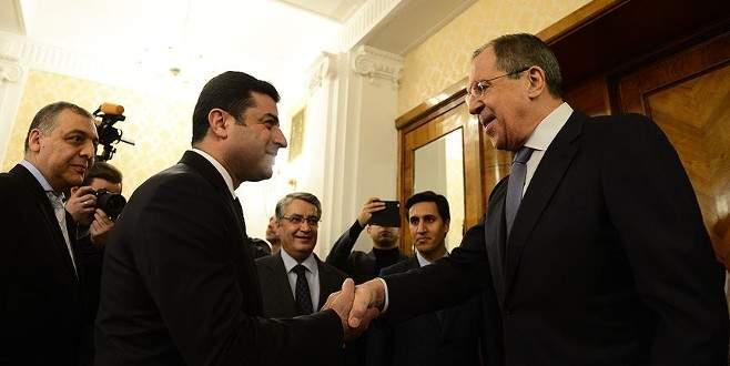 Lavrov-Demirtaş görüşmesinde PYD'ye destek teklifi