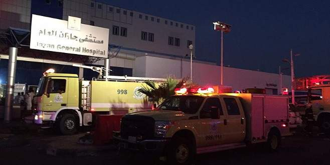 Hastanede yangın: 25 ölü