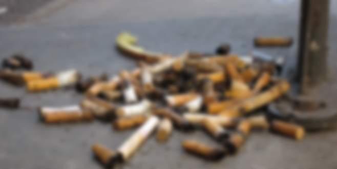 Sokakta sigara söndürenlere ceza