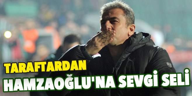 Taraftardan Hamzaoğlu'na sevgi seli