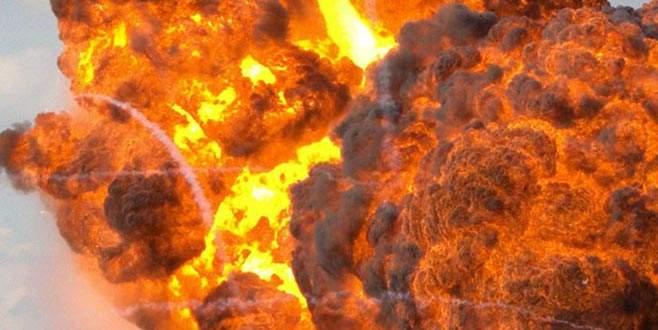 Tanker bomba gibi patladı: En az 100 ölü