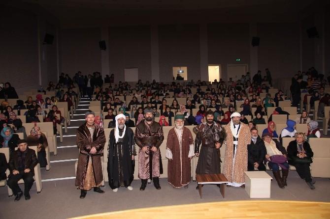 """Seydişehir'de Öğrencilere """"Ertuğrul Osman Mevlana"""" Tiyatrosu"""