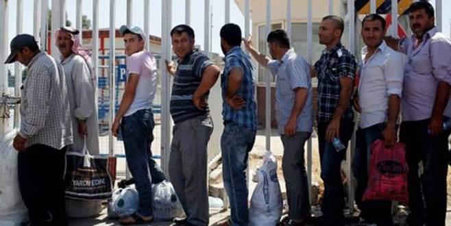 Yüzbinlerce Suriyeliye çalışma izni
