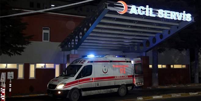 Sobadan sızan gaz 13 kişiyi hastanelik etti