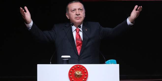 Erdoğan: Ülke üzerinde ameliyata izin vermeyiz