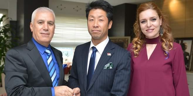 Japon personelden Nilüfer'e duygusal veda
