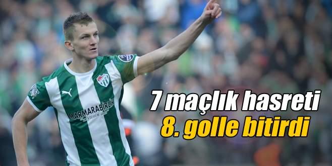 7 maçlık hasreti 8. golle bitirdi!