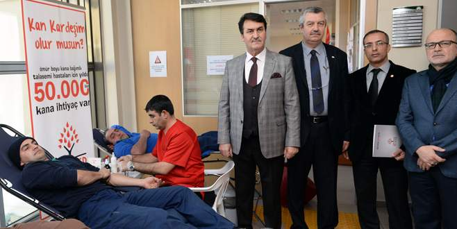 """Osmangazi'den """"Kan Kardeşliği"""" kampanyası"""