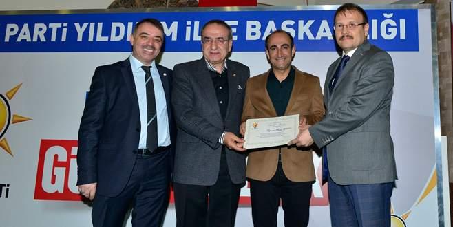 AK Parti Yıldırım'dan 'seçim' teşekkürü