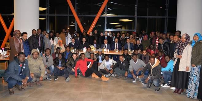 Afrikalı öğrenciler UÜ'de bir araya geldi
