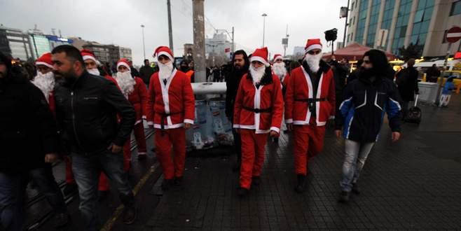 'Noel Baba' polisler görevde