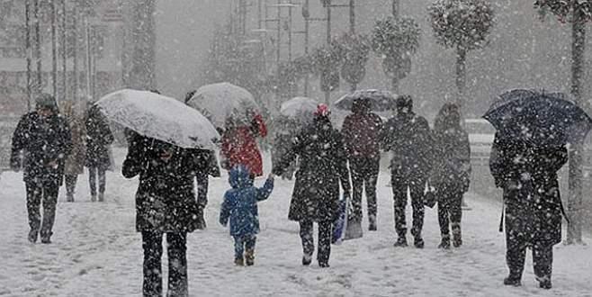 Meteoroloji'den yoğun kar alarmı