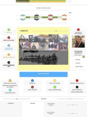 Sungurlu Belediyesi İnternet Sitesi Yenilendi