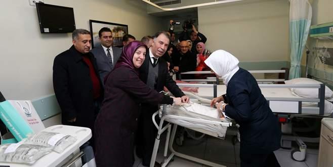 Bursa Valiliği, yeni yıla vatandaşlarla birlikte girdi