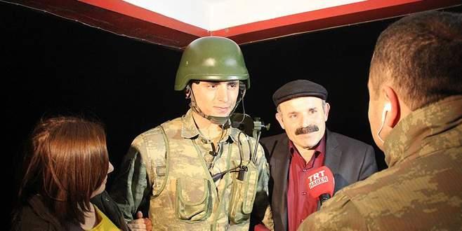Mehmetçik'e canlı yayında yılbaşı sürprizi
