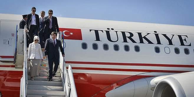 Başbakan Davutoğlu dünyayı 5 kez turladı