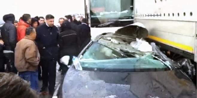 Bursa'da zincirleme kaza: 3 yaralı
