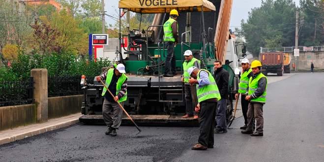 Yıldırım'da asfalt çalışmaları hız kesmedi
