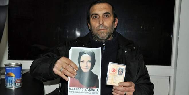 Kayıp üvey kızını sokak sokak arıyor