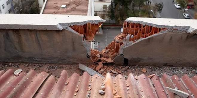 Sur'da eve havan topu isabet etti: 1 ölü