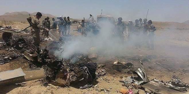 Askeri helikopter düştü: 3 ölü