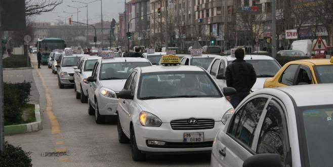 Bursa'da dolmuş ve taksi ücretlerine zam