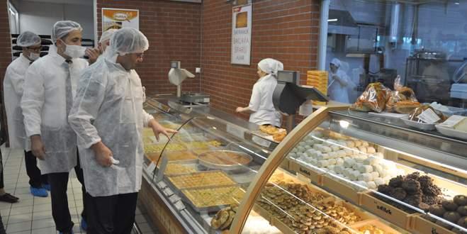 İnegöl'de gıda işletmelerine denetim