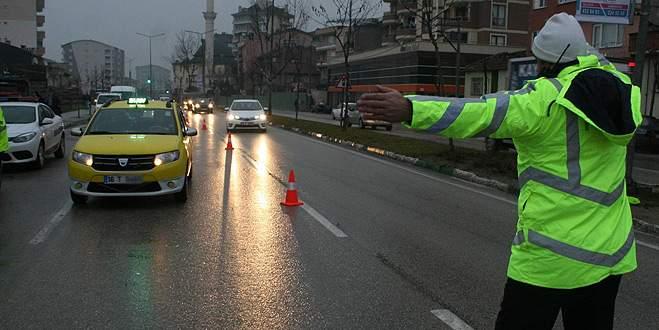 Kış lastiği olmayan ticari araçlara ceza yağdı
