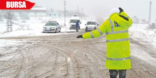 Kar trafiği vurdu