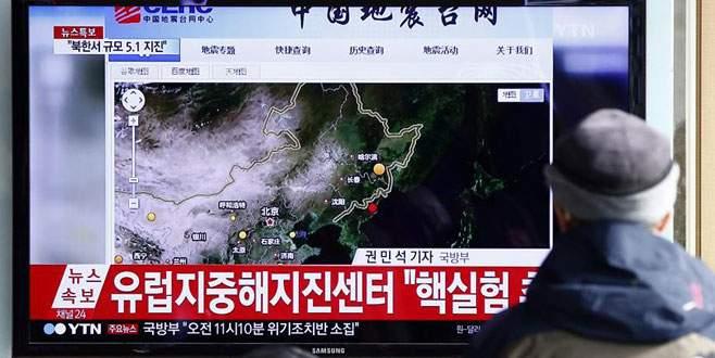 Kuzey Kore 'hidrojen' bombası test etti