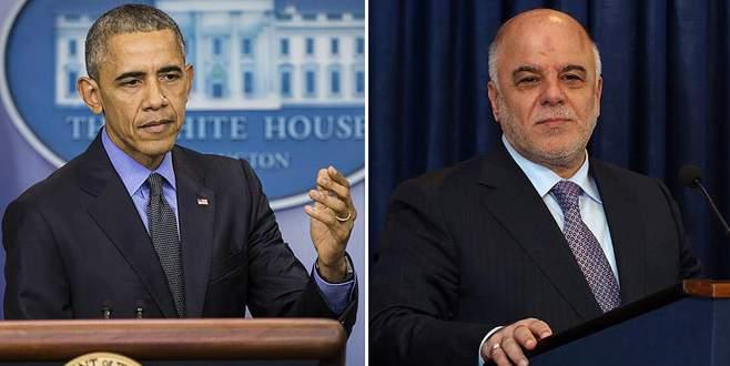 Obama, İbadi ile telefonda görüştü