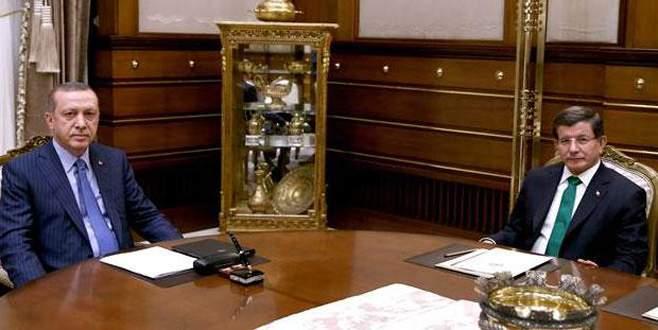 Cumhurbaşkanı Erdoğan Başbakan Davutoğlu'nu kabul etti