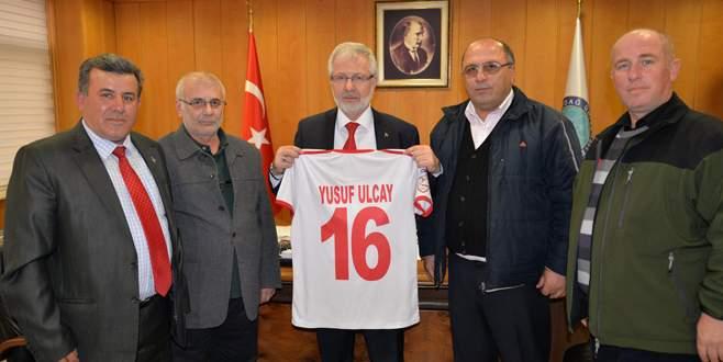 Ayyıldızspor'dan Ulcay'a ziyaret