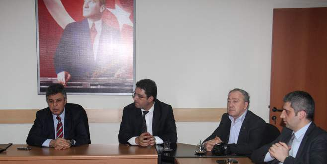 Balıkesirli gazetecilerden OLAY Medya'ya ziyaret