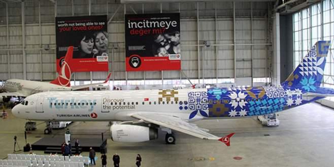 THY'den özel tasarım uçak