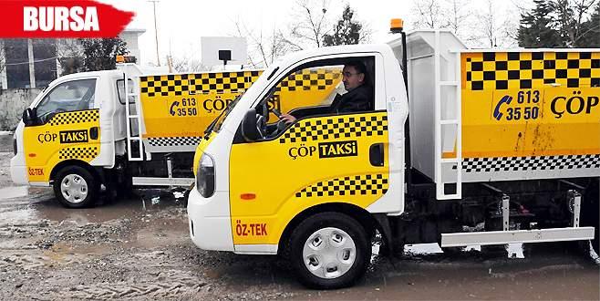 Bu da çöp taksi