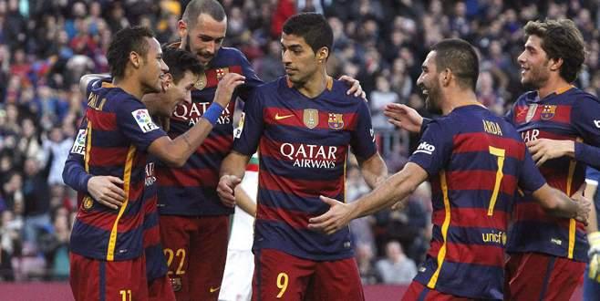 Arda ilk asistini yaptı, Barcelona farklı kazandı