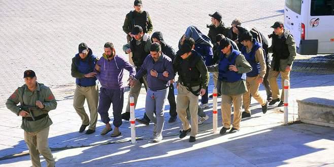 Albatros harekatında 9 kişi tutuklandı
