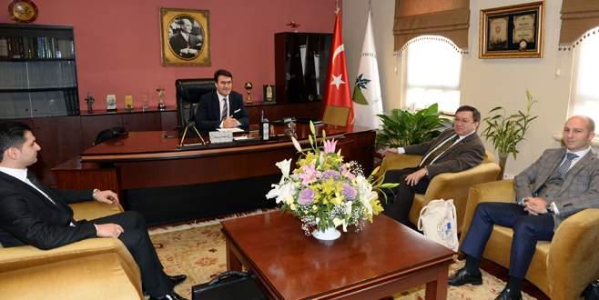 BKB'den Başkan Dündar'a ziyaret