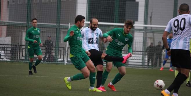 Yeşil Bursa'dan fiyakalı start: 1-0